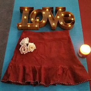🌹Very J💕from Forever 21💕NWT💕faux suede skirt💕